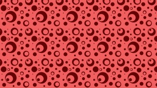 Red Geometric Circle Background Pattern Vector Image