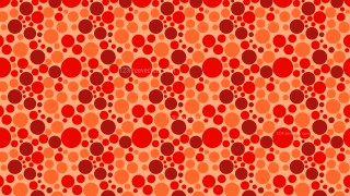 Red Random Scattered Dots Pattern Image