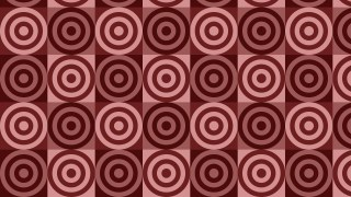 Dark Red Seamless Concentric Circles Pattern