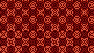Dark Red Concentric Circles Pattern Background Vector Image