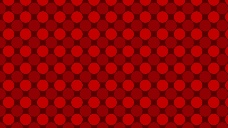 Dark Red Circle Background Pattern