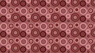Dark Red Circle Pattern Vector Graphic