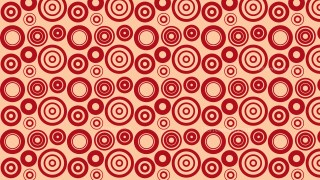 Red Circle Background Pattern Illustrator