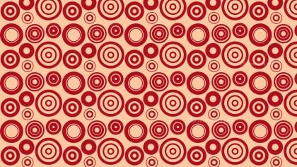 Red Circle Background Pattern Illustrator