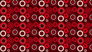 Dark Red Geometric Circle Background Pattern Vector Art