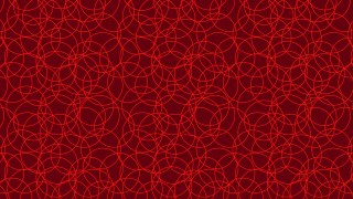 Dark Red Overlapping Circles Pattern