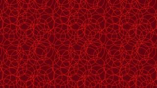Dark Red Overlapping Circles Pattern