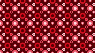 Dark Red Seamless Geometric Circle Background Pattern