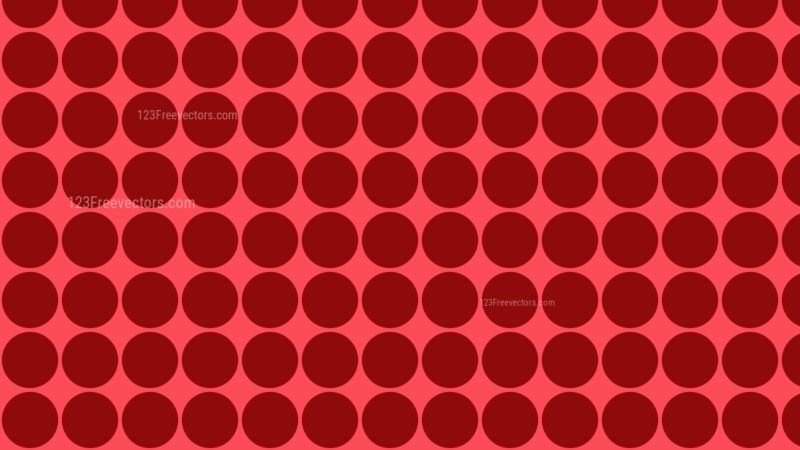 Red Geometric Circle Pattern Background Design