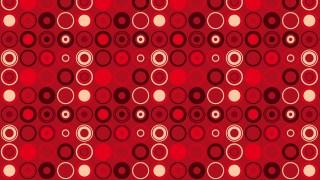 Dark Red Seamless Geometric Circle Pattern Background Vector