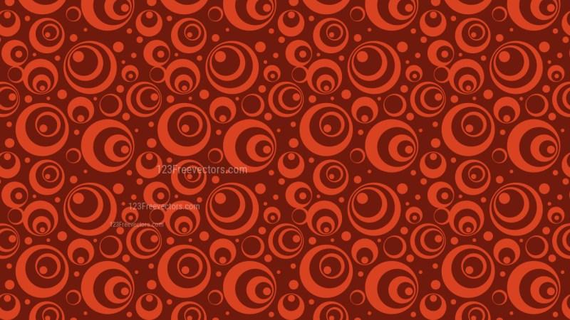 Dark Red Geometric Circle Pattern Vector Image