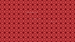 Red Seamless Concentric Circles Pattern Background Vector