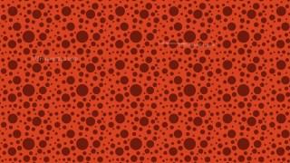 Red Random Circles Dots Pattern Vector Art