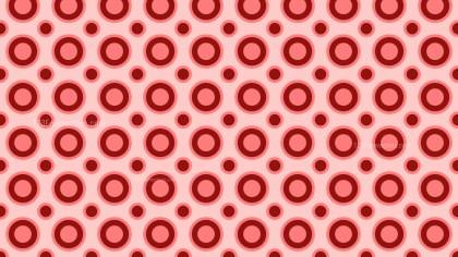Red Circle Pattern