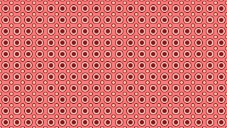 Red Geometric Circle Background Pattern