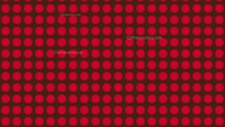 Dark Red Seamless Circle Pattern Background