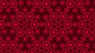 Dark Red Circle Pattern Illustrator
