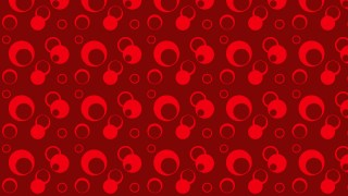 Dark Red Geometric Circle Pattern Vector Art