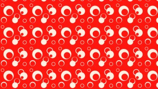 Red Geometric Circle Pattern Background Graphic