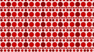 Red Seamless Geometric Circle Pattern Background Illustrator