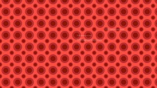 Red Seamless Geometric Circle Background Pattern Vector Illustration