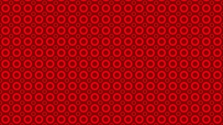 Red Circle Pattern Background