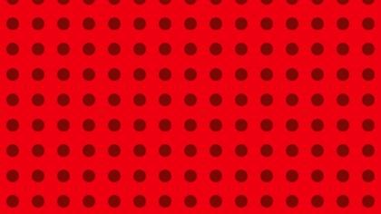 Red Geometric Circle Pattern