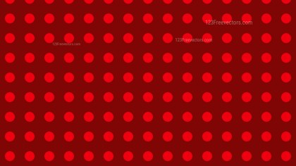 Dark Red Geometric Circle Pattern Background