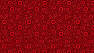 Dark Red Seamless Circle Background Pattern