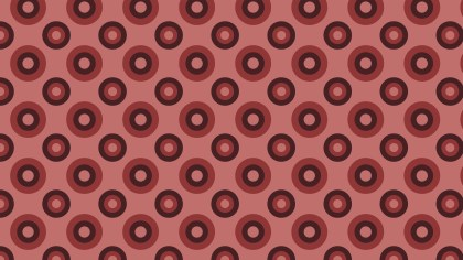 Dark Red Circle Pattern Background Illustration