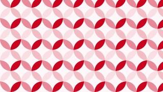 Red Circle Pattern Background Image