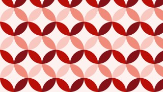 Red Circle Background Pattern Vector Graphic