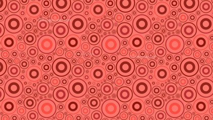 Red Geometric Circle Pattern Background Vector Graphic