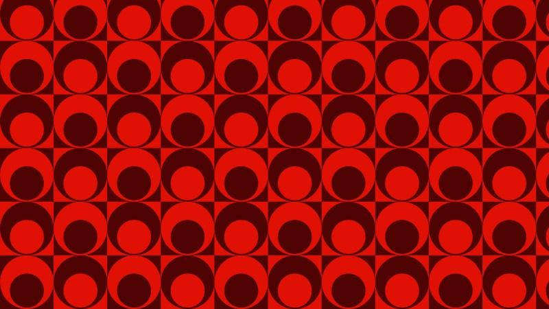 Dark Red Seamless Circle Pattern Illustrator