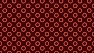 Dark Red Geometric Circle Background Pattern