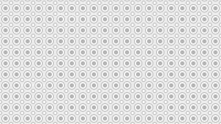 White Seamless Circle Pattern Background