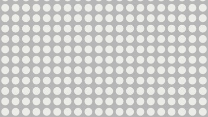 White Seamless Circle Background Pattern