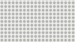 White Seamless Geometric Circle Pattern