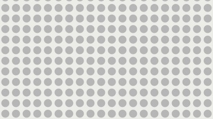 White Seamless Geometric Circle Pattern