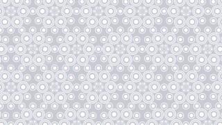 White Seamless Geometric Circle Background Pattern