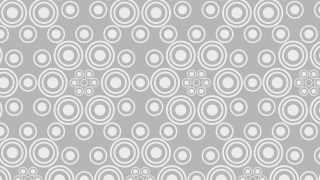 White Circle Pattern Background Vector Image