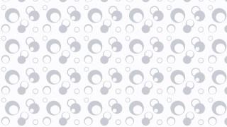 White Circle Background Pattern Illustrator