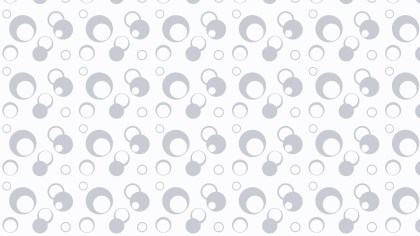 White Circle Background Pattern Illustrator