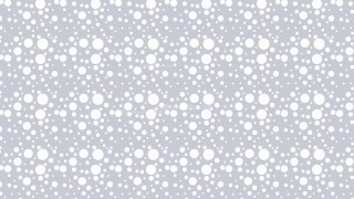 White Seamless Scattered Dots Pattern Vector Art