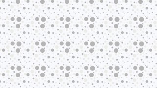 White Random Circles Dots Pattern