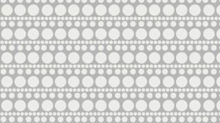 White Seamless Circle Pattern Graphic
