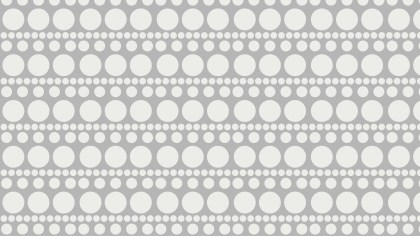 White Seamless Circle Pattern Graphic
