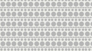 White Seamless Circle Pattern Background Illustration