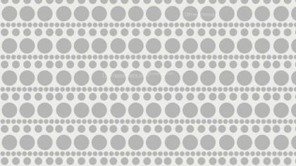 White Seamless Circle Pattern Background Illustration