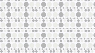 White Seamless Circle Background Pattern Design